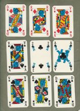 Collectable advertising playing cards. Butagaz, 1976,